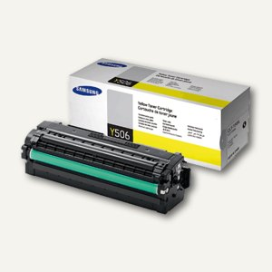 Samsung Tonerkartusche, ca. 3.500 Seiten, gelb, CLT-Y506L/ELS