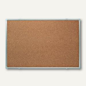 Franken Korktafel X-tra! Line, Aluminium-Rahmen, 1.800 x 1.200 mm, silber,KT2405