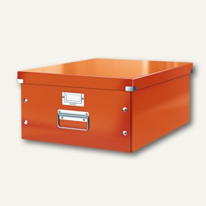 LEITZ Ablagebox Click & Store WOW, DIN A3, orange, 6045-00-44