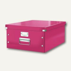 LEITZ Ablagebox Click & Store WOW, DIN A3, pink, 6045-00-23