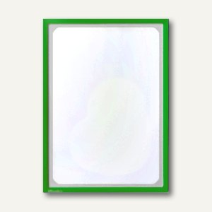 Infotasche mit Ausschnitt, DIN A3, hoch/quer, magnethaftend, gelbgrün, 889740