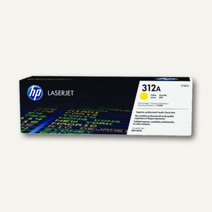 HP Lasertoner 312A, ca. 2.700 Seiten, gelb, CF382A