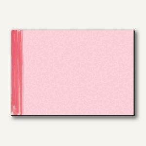 "Sigel Papier-Schreibunterlage ""Red Salsa"", 595 x 410 mm, 30 Blatt, rot, HO230"