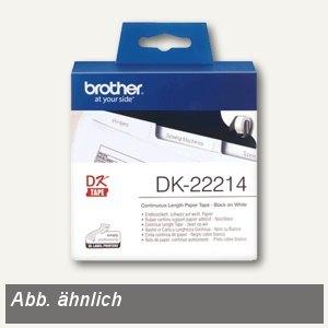 Brother DK Etiketten, Endlosetiketten, 38 mm x 30.48 m, DK22225