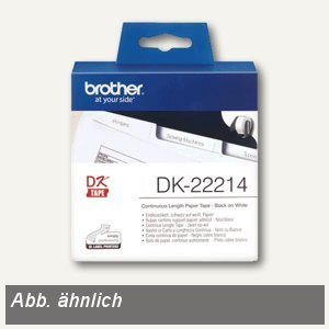 Brother DK Etiketten, Endlosetiketten, 62 mm x 30.48 m, DK22205
