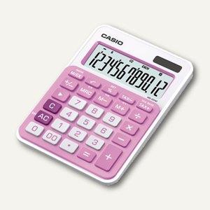 Casio Tischrechner, 12-stellig, pink, MS-20NC-PK