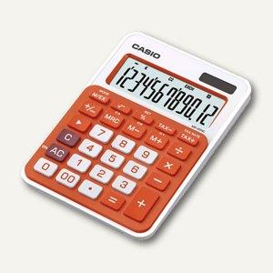 Casio Tischrechner, 12-stellig, orange, MS-20NC-RG