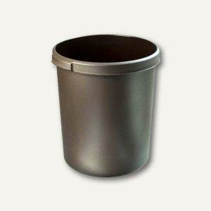 HAN Papierkorb mit Griffmulden, 30 Liter, braun, 1834-08