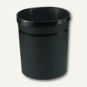 HAN Papierkorb GRIP, 18 Liter, schwarz, 18190-13
