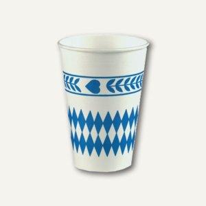 Papptrinkbecher Bayrisch Blau
