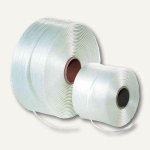 Umreifungsband aus PET, (B)25 mm, Reißfestigkeit 450 kg, natur, 65314100