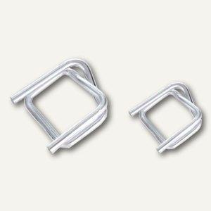 Umreifungsschnallen aus Metall, verzinkt, (B)25 mm, 1000St., 65400010