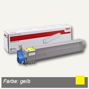 OKI Toner, gelb, 43837129
