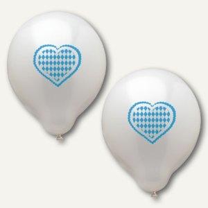 Luftballons Bayrisch Blau