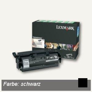 Lexmark Rückgabe-Druckkassette für Etiketten, ca. 3.500 Seiten, schwarz,T654X04E