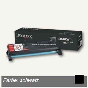 Lexmark Fotoleiter / Trommel, ca. 25.000 Seiten, schwarz, 12026XW