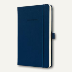Notizbuch CONCEPTUM, 135x203 mm (ca.A5), kariert, Hardcover, dkl.blau, CO567