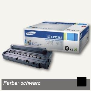Samsung Toner ca. 3.000 Seiten, schwarz, 2 Stück, SCX-P4216A/ELS