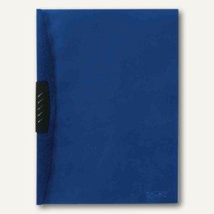 Herlitz Klemmhefter Kwik-Clip, DIN A4, PP-Folie, blau, 05790621