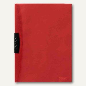 Herlitz Klemmhefter Kwik-Clip, DIN A4, PP-Folie, rot, 05790647