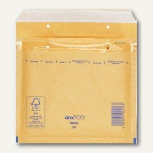 TAP CD-Luftpolster-Versandtaschen COMEBAG, braun, 100St., 81011200