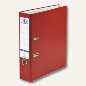 Ordner smart Pro - PP/Papier, Kantenschutz, Rückenbreite 80mm, rot, 100202156