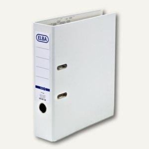 Ordner smart Pro - PP/Papier, Kantenschutz, Rückenbreite 80mm, weiß, 100202147
