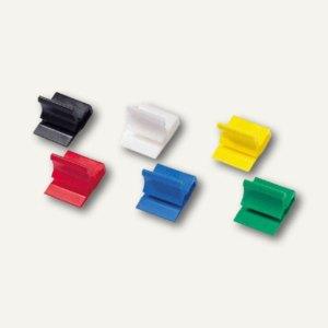 Kunststoff-Briefklemmer Zacko 2, 12 x 18 mm, farbig sortiert, 1000 Stück, 2851-9