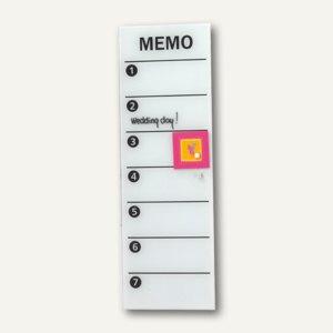 Magnetische Glastafel Memo