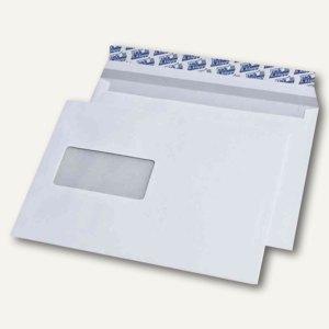 Briefumschläge C5, mit Fenster, haftklebend, 90 g/qm, weiß, 500 St., 248140