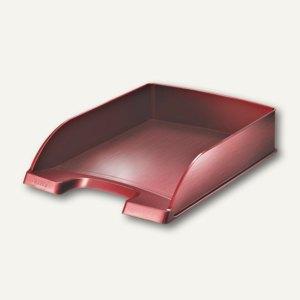LEITZ Briefablage Style, DIN A4, Polystyrol, granat-rot, 5254-00-28