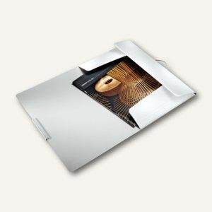 LEITZ Eckspannermappe Style, DIN A4, PP, arktik-weiß, 3977-00-04
