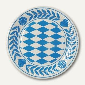 Artikelbild: Pappteller Bayrisch Blau