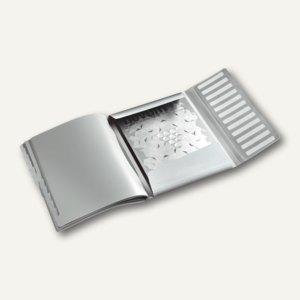 Ordnungsmappe Style, DIN A4, 12 Fächer mit Taben, PP, arktik-weiß, 3996-00-04