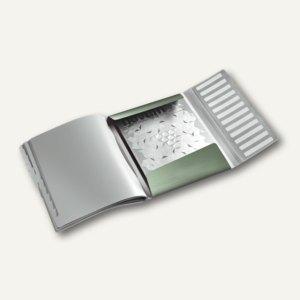 Ordnungsmappe Style, DIN A4, 12 Fächer mit Taben, PP, seladon-grün, 3996-00-53