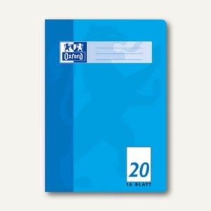 Oxford Heft, DIN A4, Lin. 20 - blanko, 16 Blatt, 100050306
