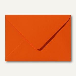 Farbige Briefumschläge, 120x180mm, nasskl., ohne Fenster, orange, 500St.