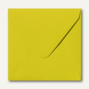 Farbige Briefumschläge, 140x140mm, nasskl., ohne Fenster, hellgrün, 500St.