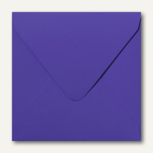 Farbige Briefumschläge, 140x140mm, nasskl., ohne Fenster, lavendel, 500St.