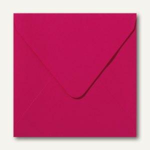 Farbige Briefumschläge, 140x140mm, nasskl., ohne Fenster, pink, 500St.