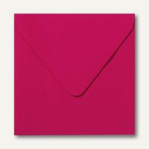 Farbige Briefumschläge, 160x160mm, nasskl., ohne Fenster, pink, 500St.