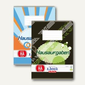Herlitz Hausaufgabenheft x.book DIN A6, 70 g/m², 10408078