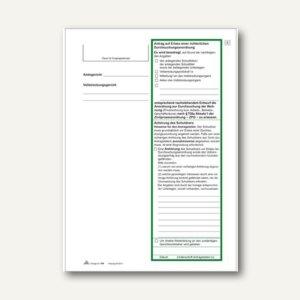 Antrag: Erlass einer richterlichen Durchsuchungsanordnung, 3 Seiten, 10 St., 786