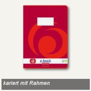 Schulheft x.book DIN A4