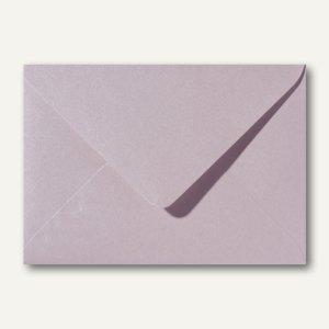 Farbiger Briefumschlag Metallic, 120x180mm, nasskl., ohne Fenster, rosa, 500St.
