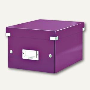 LEITZ Ablagebox Click & Store WOW, DIN A5, violett, 6043-00-62