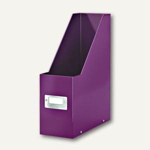 LEITZ Stehsammler Click & Store WOW, DIN A4, violett, 6047-00-62