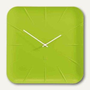 "Sigel Design-Wanduhr artetempus ""inu"", Quarzuhr, Durchm. 360 mm, grün, WU143"