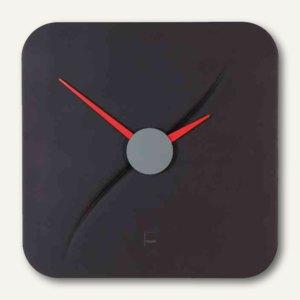 """Sigel Design-Wanduhr artetempus """"kada"""", Quarzuhr, 35x45x35cm, schwarz, WU131"""