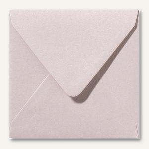 Farbiger Briefumschlag Metallic, 140x140 mm, nasskl., 120 g/m², rosa, 500St.